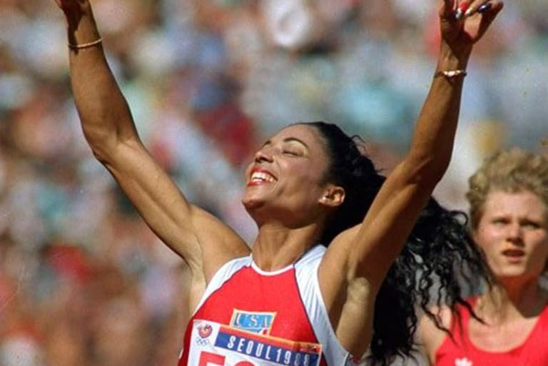 Flo Jo at  1988 Olympic Games