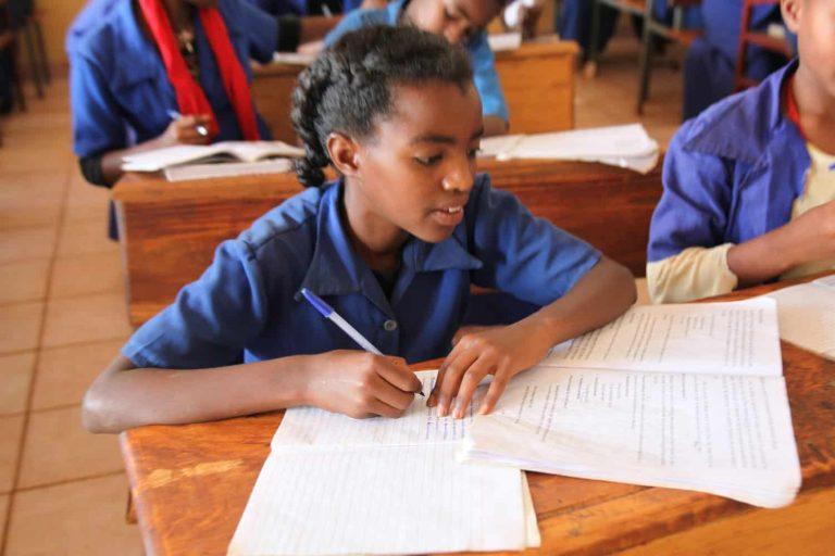 Merawit Metekia at School