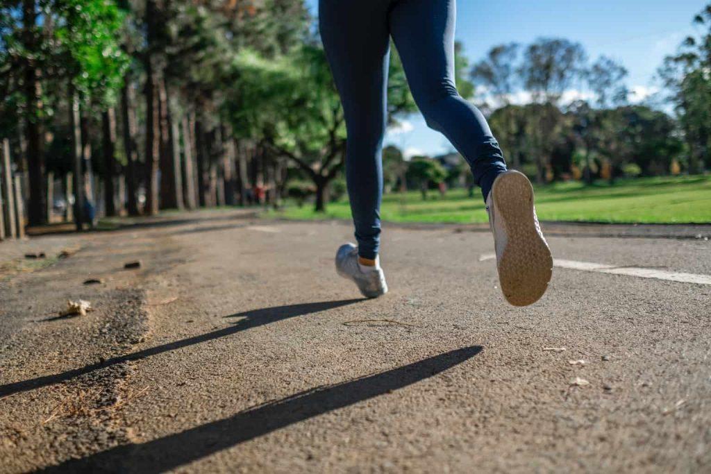 Running on a Park